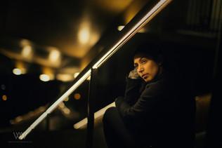 Portraits bei Nacht