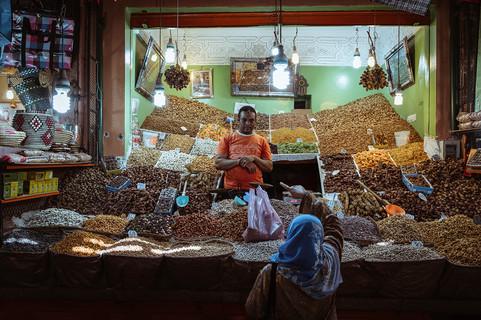 Datteln und Pistazien Marokko