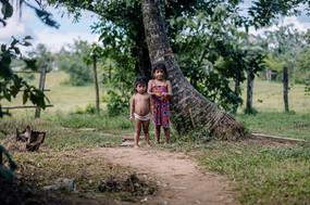 Kids in Panama