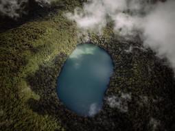 Volcano Lake Costa Rica