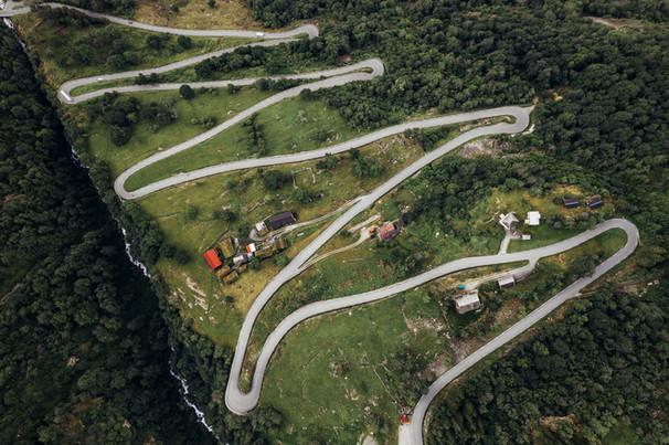 Valle Road Norway