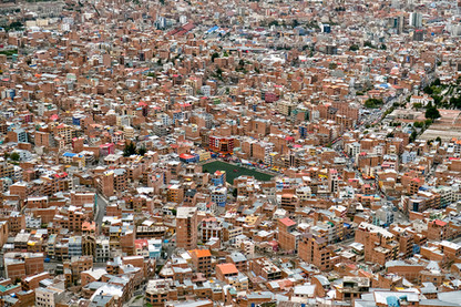 La Paz Bolivia View
