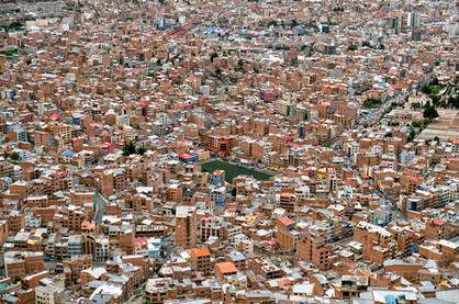 La Paz Bolivia - Drone Photo