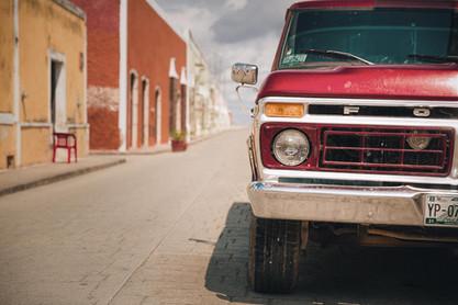 Alter Jeep Mexiko