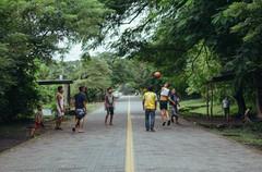 Kids playing soccer Nicaragua