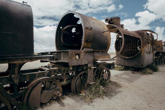 Uyuni old Trains