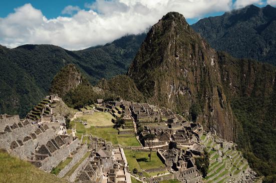 Machu Picchu Temple Inka Travel