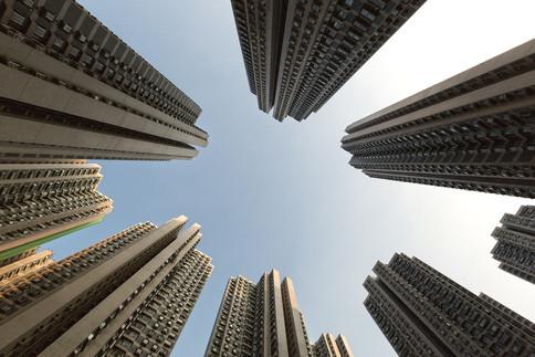 Hochhäuser Hong Kong China