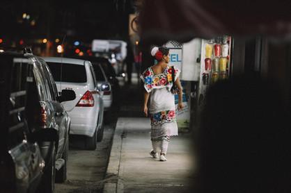 Mexican Fashion Woman