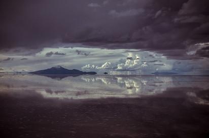 Salzwüste Salar De Uyuni Spiegel