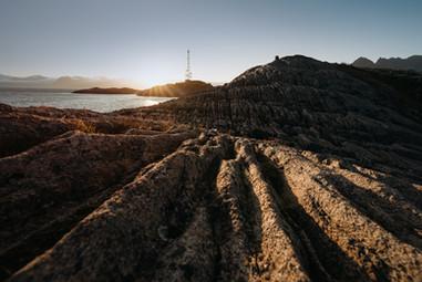 Special Landscape Lofoten Norway
