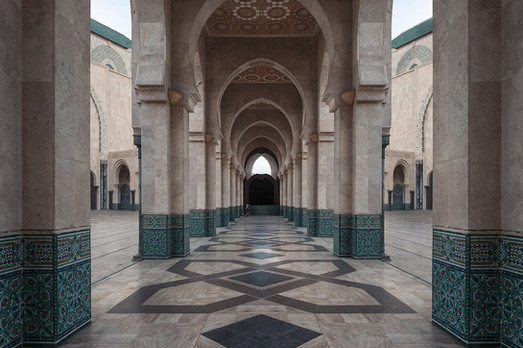 Casablanca grosse Moschee