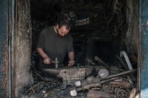 Handwerker Marokko