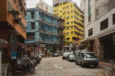 Häuser in Hong Kong