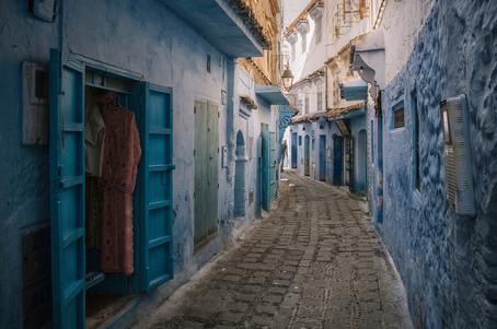 Chefchaouen Marokko Blaue Stadt