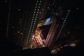 Red Taxis Hong Kong