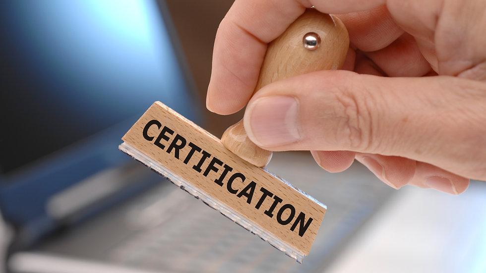 Yacht Certificates List