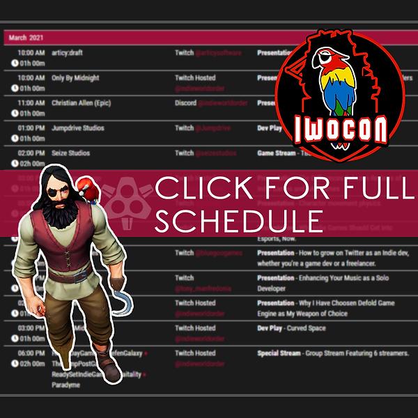IWOCon 2021 Schedule