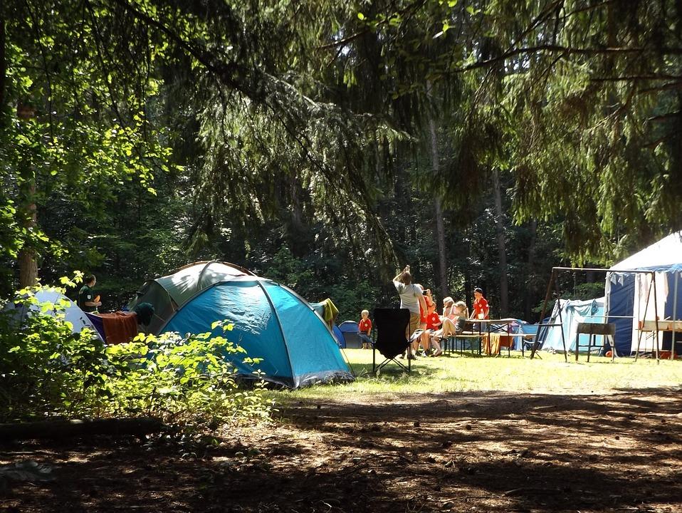 Camp est-ce qu'on part