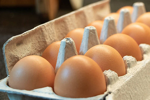 Extra Large Brown Eggs - Per doz.