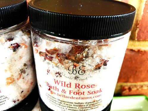 Wild Rose Bath & Foot Soak