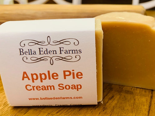 Apple Pie Cream Soap