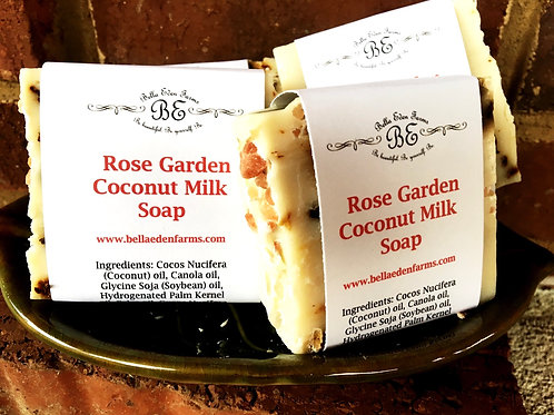 Rose Garden Coconut Milk Soap