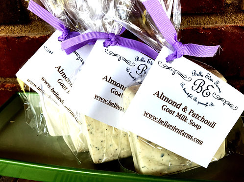 Almond & Patchouli Goat Milk Soap