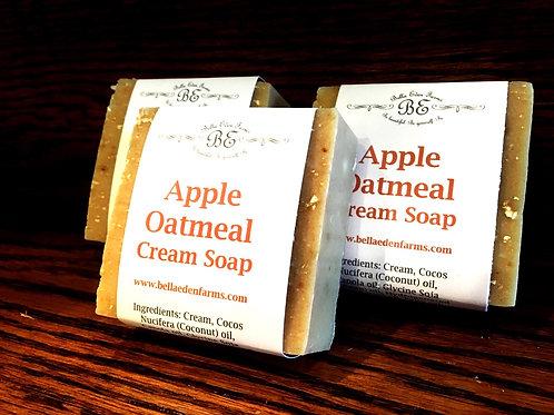 Apple & Oatmeal Cream Soap