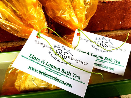 Lime & Lemon Bath Tea