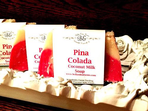 Pina Colada Coconut Milk Soap
