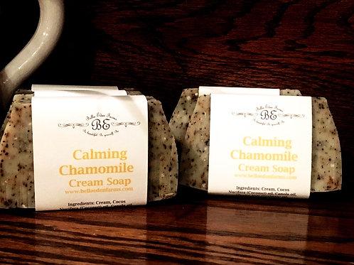 Calming Chamomile Cream Soap