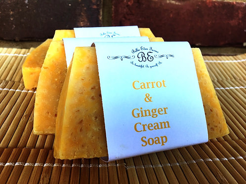 Carrot & Ginger Cream Soap