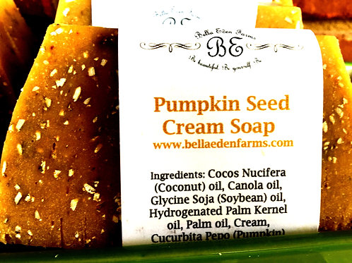 Pumpkin Seed Cream Soap