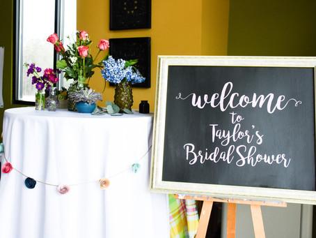 Taylor's Bridal Shower