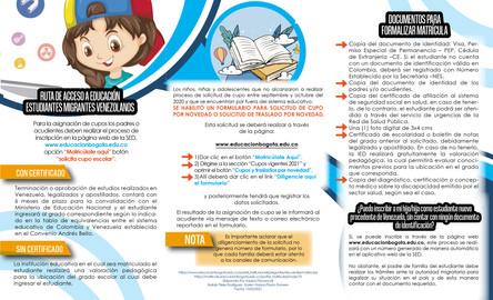 Ruta Salud Educación Bogotá