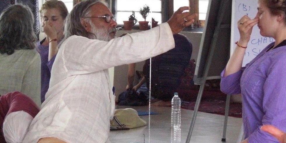 Pranayama foundations with Master Teacher, Guru Ji