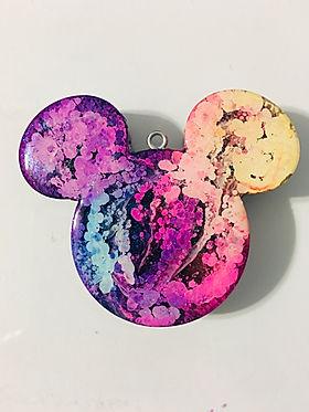 Micke Mouse Pendant - Rainbow
