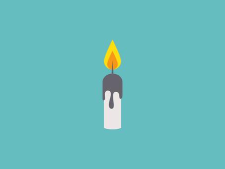 Por qué deberías mirar una vela