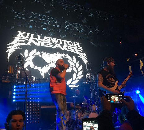 Killswitch Engage live in London