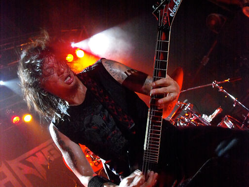 Rob from Death Angel shredding live in Toronto