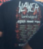 Slayer, Lamb of God, Anthrax, Testament concert tour shirt
