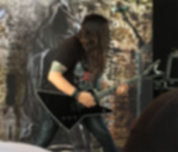 Eric Peterson of Testament live
