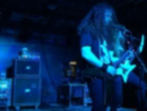 Havok band headbanging in Toronto