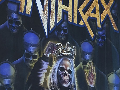 Anthrax For all Kings live