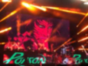 Poison live in Toronto Rikki Rockett
