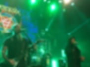 Anthrax live in London Scott Ian ad Joey Belladonna