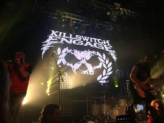 Killswitch skull backdrop