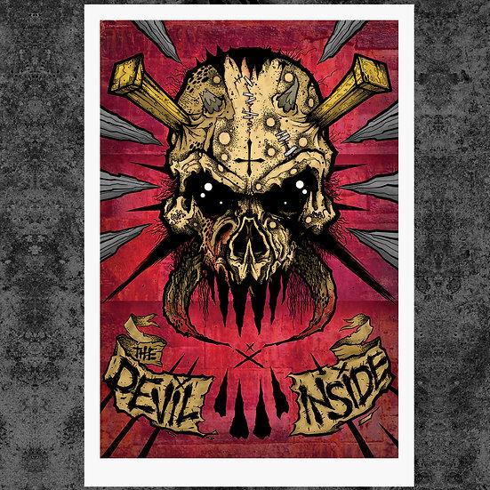 "DEVIL INSIDE 13"" x 19"" ART PRINT"