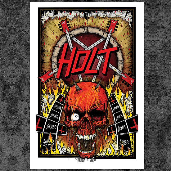 "HOLT AWAITS 13"" x 19"" ART PRINT"